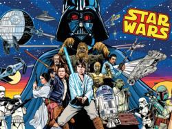 Comic Pinball Art Star Wars Jigsaw Puzzle