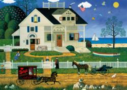 Pickwick Cottage Cottage / Cabin Jigsaw Puzzle