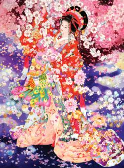 Hanafubuki Cultural Art Jigsaw Puzzle