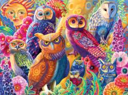 Owl Autonomy Owl Jigsaw Puzzle