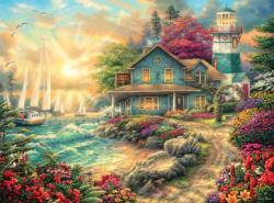 Sunrise By The Sea Sunrise / Sunset Jigsaw Puzzle