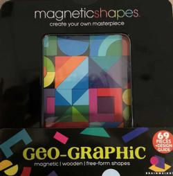 Geo-Graphic (Magna Shapes) Abstract Wooden Jigsaw Puzzle