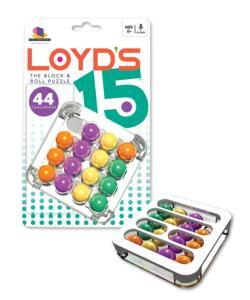 Loyd's 15 Brain Teaser