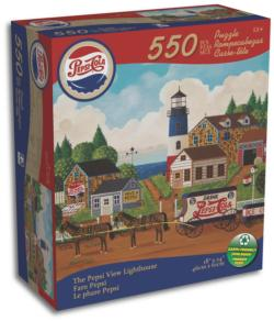 View Lighthouse (Only) Jigsaw Puzzle