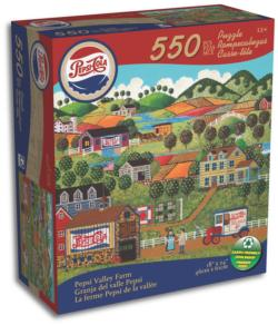 Only - Valley Farm Jigsaw Puzzle