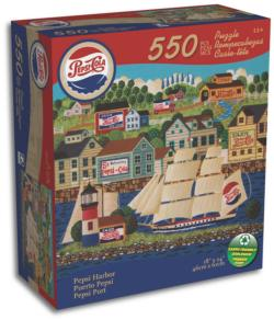 Pepsi Harbour (Only) Jigsaw Puzzle