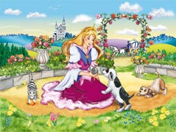 Little Princess Princess Children's Puzzles