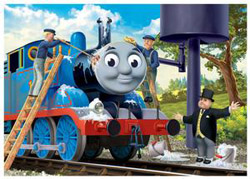 Cleaning Thomas (Thomas & Friends) Trains Children's Puzzles