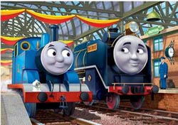 Thomas & Hiro (Thomas & Friends) Movies / Books / TV Children's Puzzles