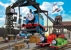 At the Docks (Thomas & Friends) Cartoons Children's Puzzles