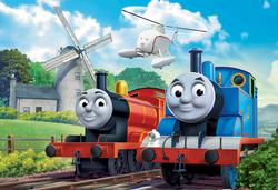 Thomas at the Windmill (Thomas & Friends) Thomas and Friends Jigsaw Puzzle