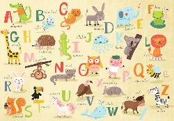 A-Z Animals Educational Children's Puzzles