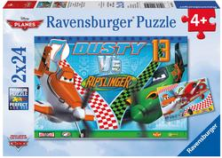Dusty the Brave Aviator Cartoons Children's Puzzles