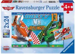 Dusty the Brave Aviator Cartoons Children's Puzzles