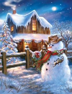 The Country Christmas Jigsaw Puzzle