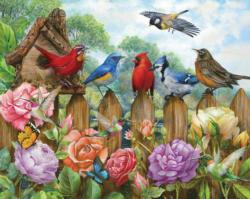Morning Serenade Birds Jigsaw Puzzle