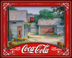 Springtime Serenity Coca Cola Jigsaw Puzzle