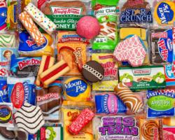 Snack Treats Food and Drink Jigsaw Puzzle