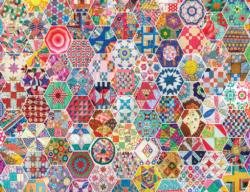 Crazy Quilts Pattern / Assortment Jigsaw Puzzle