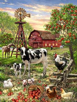 Barnyard Animals Farm Animals Jigsaw Puzzle