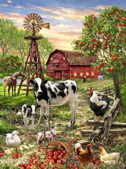 Barnyard Animals Farm Animals Jigsaw Puzzle