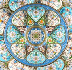 Timeless Turquoise Pattern / Assortment Jigsaw Puzzle