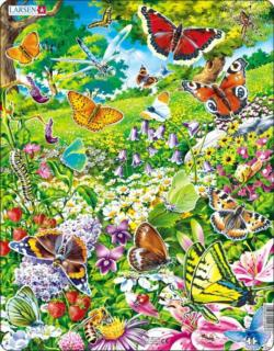 Butterflies Butterflies and Insects Children's Puzzles