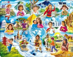 Children Of The World Educational Children's Puzzles