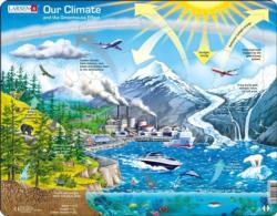 Climate Greenhouse Science Children's Puzzles