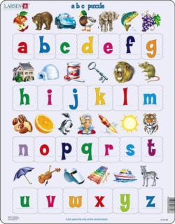 Alphabet Letters 26 Piece Children's Educational Jigsaw Puzzle Alphabet/Numbers Children's Puzzles