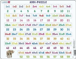 Learning Addition Children's Educational 58 Piece Jigsaw Puzzle Children's Puzzles