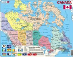 Canada Map Canada Children's Puzzles
