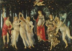 Allegory Of Spring Fine Art Jigsaw Puzzle