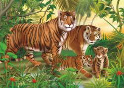Tigers Tigers Children's Puzzles