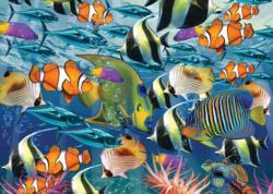 Multi Fish Fish Jigsaw Puzzle