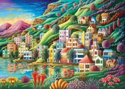 The Bay Seascape / Coastal Living Jigsaw Puzzle