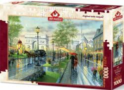 Spring Walk, Paris Paris Jigsaw Puzzle