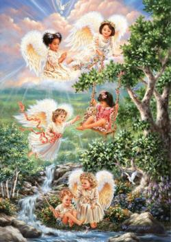 Angels Of Hope Angels Jigsaw Puzzle