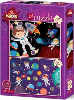 The Space Puzzle Set Space Multi-Pack