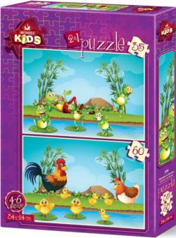 Animals And Babies Frog Multi-Pack