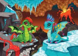 The Baby Dragons Dragons Children's Puzzles