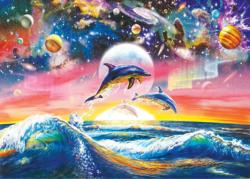 Universal Dolphins Dolphins Jigsaw Puzzle