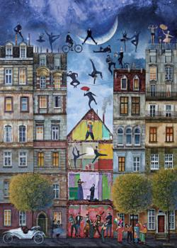 Dream Street Cities Jigsaw Puzzle