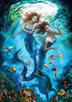 The Mermaids Mermaids Jigsaw Puzzle