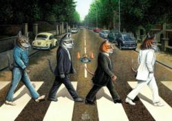 Tabby Road Music Jigsaw Puzzle