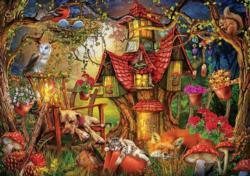 Sleepy Time Forest Jigsaw Puzzle