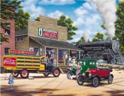 Coca-Cola All Aboard General Store Jigsaw Puzzle