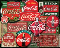 Coca Cola - Classic Signs Coca Cola Jigsaw Puzzle