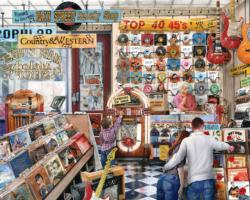 The Melody Shop Nostalgic / Retro Jigsaw Puzzle