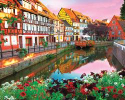 Colmar,  France Sunrise / Sunset Jigsaw Puzzle